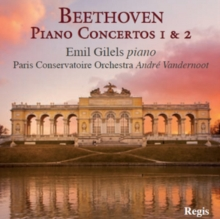 Beethoven: Piano Concertos 1 & 2, CD / Album Cd