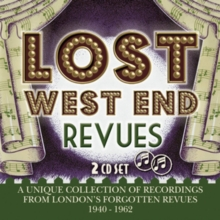 Lost West End Revues: A Unique Collection of Recordings from London's Forgotten Revues, CD / Album Cd