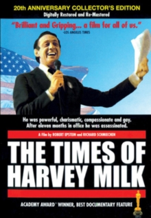 The Times of Harvey Milk, DVD DVD