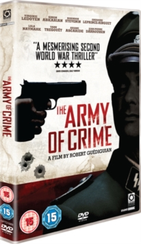 The Army of Crime, DVD DVD
