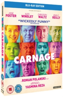 Carnage, Blu-ray  BluRay