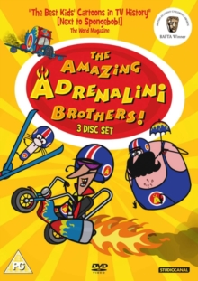 The Amazing Adrenelini Brothers, DVD DVD