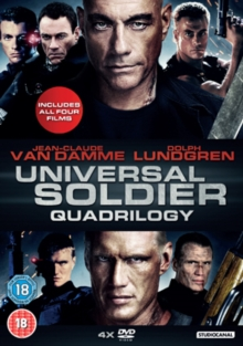 Universal Soldiers Quadrilogy, DVD  DVD