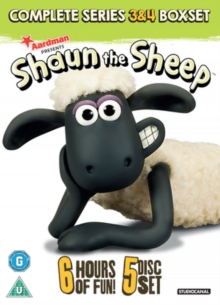 Shaun the Sheep: Complete Series 3 and 4, DVD  DVD