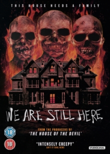 We Are Still Here, DVD  DVD