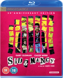 Sid & Nancy, Blu-ray BluRay