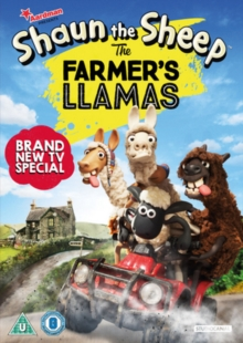 Shaun the Sheep in the Farmer's Llamas, DVD DVD