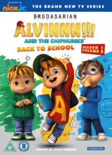 Alvinnn!!! And the Chipmunks: Season 1 Volume 2 - Back to School, DVD DVD