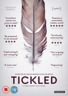 Tickled, DVD DVD