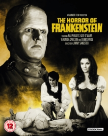 The Horror of Frankenstein, Blu-ray BluRay