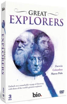 Great Explorers: Darwin, Columbus, Marco Polo, DVD  DVD