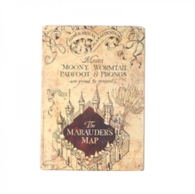 Marauders Map, Paperback Book