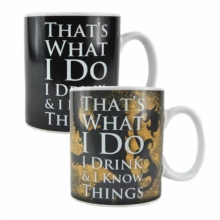 GOT Tyrion Lannister Heat Change Mug,  Book