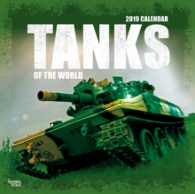 TANKS OF THE WORLD 2019 SQUARE WALL CALE, Paperback Book