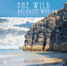 WILD ATLANTIC WAY 2019 SQUARE WALL CALEN, Paperback Book
