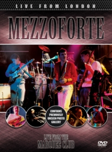 Mezzoforte: Live from London, DVD  DVD