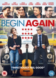 Begin Again, DVD  DVD