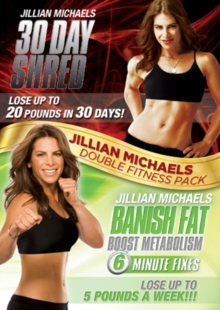 Jillian Michaels: 30 Day Shred/Banish Fat, Boost Metabolism, DVD  DVD