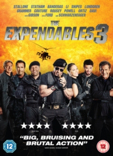 The Expendables 3, DVD DVD