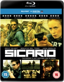 Sicario, Blu-ray BluRay