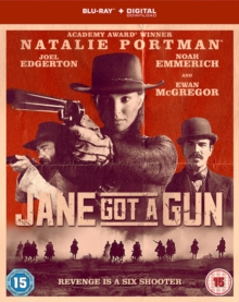 Jane Got a Gun, Blu-ray BluRay