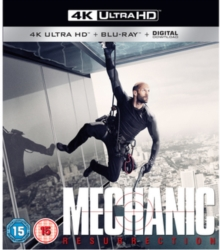 Mechanic - Resurrection, Blu-ray BluRay