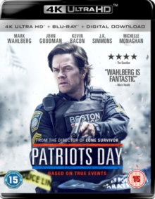 Patriots Day, Blu-ray BluRay
