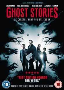 Ghost Stories, DVD DVD