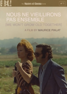Nous Ne Vieillirons Pas Ensemble - The Masters of Cinema Series, DVD DVD