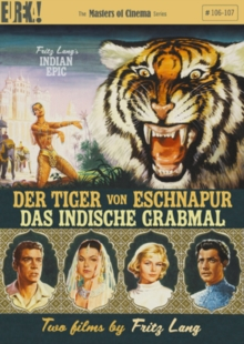 Tiger of Bengal/The Tomb of Love - The Masters of Cinema Series, DVD DVD