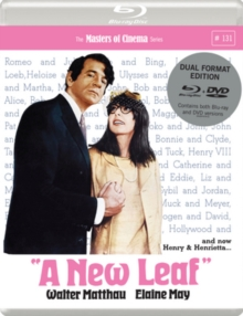 A   New Leaf - The Masters of Cinema Series, Blu-ray BluRay