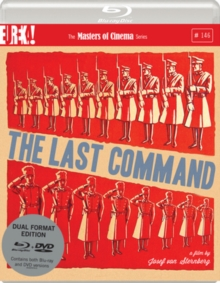 The Last Command - The Masters of Cinema Series, Blu-ray BluRay