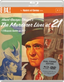 The Murderer Lives at 21 - The Masters of Cinema Series, Blu-ray BluRay