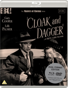 Cloak and Dagger - The Masters of Cinema Series, Blu-ray BluRay