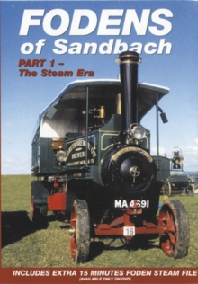 Fodens of Sandbach: Part 1 - The Steam Era, DVD  DVD