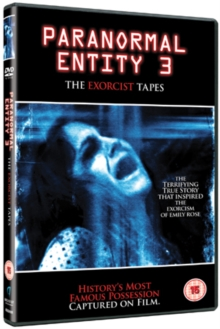 Paranormal Entity 3, DVD  DVD