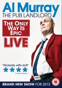 Al Murray: The Only Way Is Epic Tour, DVD  DVD