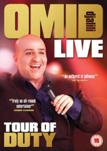 Omid Djalili: Tour of Duty, DVD  DVD
