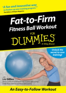 Fat-to-firm Fitness Ball Workout for Dummies, DVD  DVD