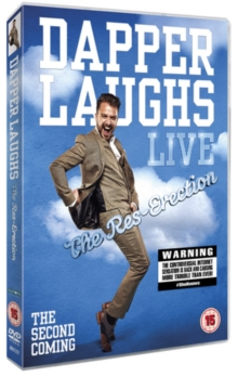 Dapper Laughs Live - The Res-erection, DVD  DVD