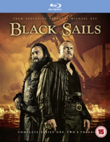 Black Sails: Complete Series One, Two & Three, Blu-ray BluRay