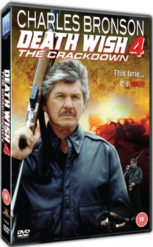 Death Wish 4 - The Crackdown, DVD  DVD