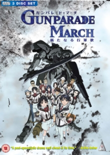 Gunparade March: Volumes 1-3, DVD  DVD