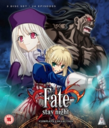 Fate Stay Night: Complete Collection, Blu-ray BluRay