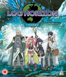 Log Horizon: Season 2 - Part 1, Blu-ray BluRay