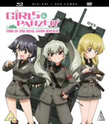 Girls Und Panzer: This Is the Real Anzio Battle, Blu-ray BluRay