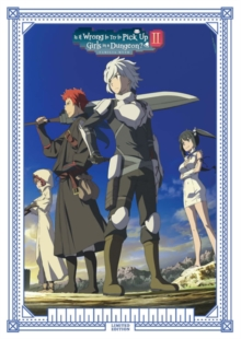 Is It Wrong to Try to Pick Up Girls in a Dungeon?: Season 2, Blu-ray BluRay