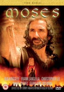 The Bible: Moses, DVD DVD