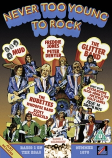 Never Too Young to Rock, DVD  DVD