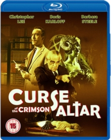 Curse of the Crimson Altar, Blu-ray  BluRay